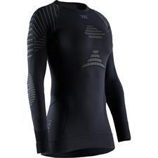 X-bionic T-Shirt Ls Invent 4.0 W Blk/Charc