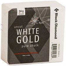 Black Diamond Solid White Gold Block