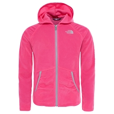 The North Face Mezzaluna Full Zip Hoodie Girl