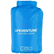 Lifeventure Cotton Sleeper Mummy 220x90 cm