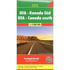 Ed. Freytag & Berndt Estados Unidos - Canada 1:3000000
