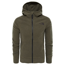 The North Face Glacier Full Zip Hoodie (Recycled) Boy