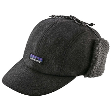 Patagonia Recycled Wool Ear Flap Cap