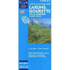 Ed. Ign France Laruns, Gourette, Col D´Aubisque, Valleé d´Ossau