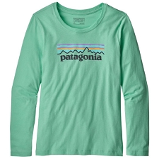 Patagonia L/S Graphic Organic T-Shirt Girls