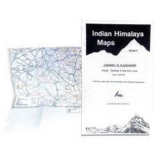 Ed. Leomann Maps Pu. Jammu & Kashmir-Sheet 2 Kargil, Zanskar