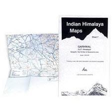 Ed. Leomann Maps Pu. Garhwal, Sheet 7 Gangotri, Har-Ki-Dun, 1/200,000
