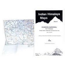 Ed. Leomann Maps Pu. Kumaon - Garhwal - Sheet 8 - Pindari Glacier
