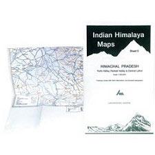 Ed. Leomann Maps Pu. Himachal Pradesh - Sheet 5 Kullu Valley