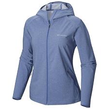 Columbia Heather Canyon Softshell Jacket Blue Dus