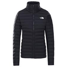 The North Face W Stretch Down Jkt Tnf Black
