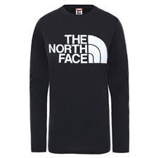 The North Face W Standard Ls Tee Tnf Black