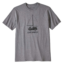 Patagonia Live Simply® Wind Powered Responsibili-Tee