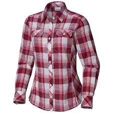 Columbia Camp Henry Ls Shirt W