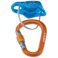 Camp Più 2.0 Belay Kit - Light blue