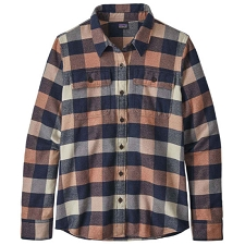 Patagonia Long-Sleeved Fjord Flannel Shirt W