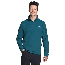 The North Face M 100 Glacier 1/4 Zip Mallard Blue