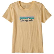 Patagonia Pastel P-6 Logo Organic Crew T-Shirt W