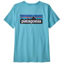 Patagonia P-6 Logo Organic Crew T-Shirt W