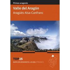 Ed. Prames Valle del Aragón 1:25000