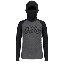 Odlo Active Warm Eco Kids Bl Top With Facemask Kids