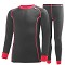Helly Hansen K HH Warm Set 2 - Ebony/Magenta