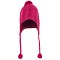 The North Face Fuzzy Earflap Beanie W - Dramatic Plum/Luminous Pink