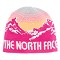 The North Face Youth Anders Beanie - Luminous Pink/Impact Orange
