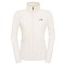 The North Face 100 Glacier Full Zip W - Vintage White