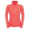 The North Face 100 Glacier Full Zip W - Radiant Orange