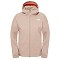 The North Face Quest Jacket W - Dune Beige/Padiant Orange