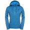 The North Face Kutum Full Zip Hoodie W - Clear Lake Blue Heather/Patriot Blue