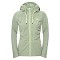 The North Face Mezzaluna Full Zip Hoodie W - Laurel Wreath Green Stripe