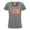 The North Face S/S Easy Tee W - Medium Grey Heather