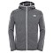 The North Face Gordon Lyons Lite Full Zip Hoodie - Medium Grey Heater