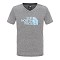 The North Face S/S Reaxion Tee Girl - Heather Grey