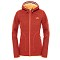 The North Face Zermatt Full Zip Hoodie W - Melon Red Heather