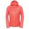 The North Face Verto Prima Hoodie W - Melon Red/Snowcone Red