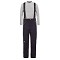 The North Face Snowquest Suspender Pant Girl - TNF Black