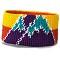 Dakine Poppy Peaks Headband - Octane/Gold