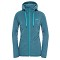 The North Face Mezzaluna Full Zip Hoodie W - Balsam Blue