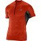 Salomon S-Lab Exo Zip Tee - Red/Black