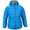 Campagnolo Fix Hood Down Jacket Girl - Blue Sea