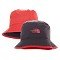 The North Face Sun Stash Hat - FMK Pompeian Red/Asphalt Grey