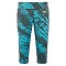 The North Face Pulse Capri Tight W - Bluebird Paintball Print