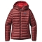 Patagonia Down Sweater Hoody W - Drumfire Red