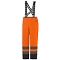 Helly Hansen Workwear Alta Insulated Pant - Orange/Charcoal