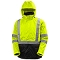 Helly Hansen Workwear Alta Shell Jacket - Yellow/Charcoal