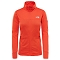 The North Face Kyoshi Full Zip Jacket W - Fire Brick Red Heather