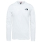 The North Face Easy Tee LS - TNF White